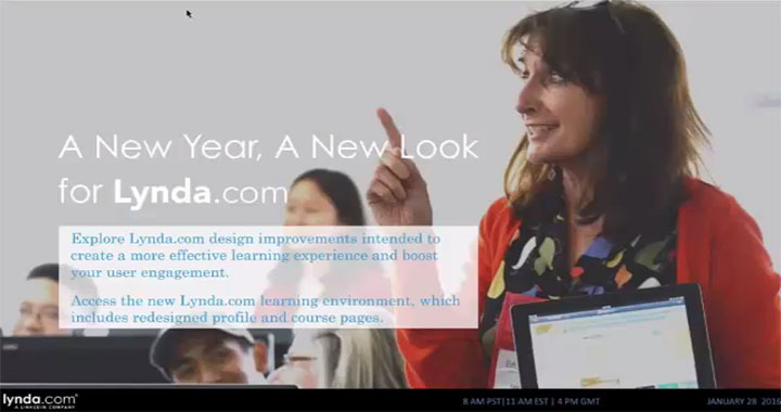 A New Year, New Look for Lynda.com