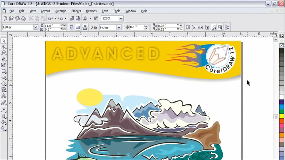 Character Design Tutorial In Coreldraw : Coreldraw online courses classes training tutorials