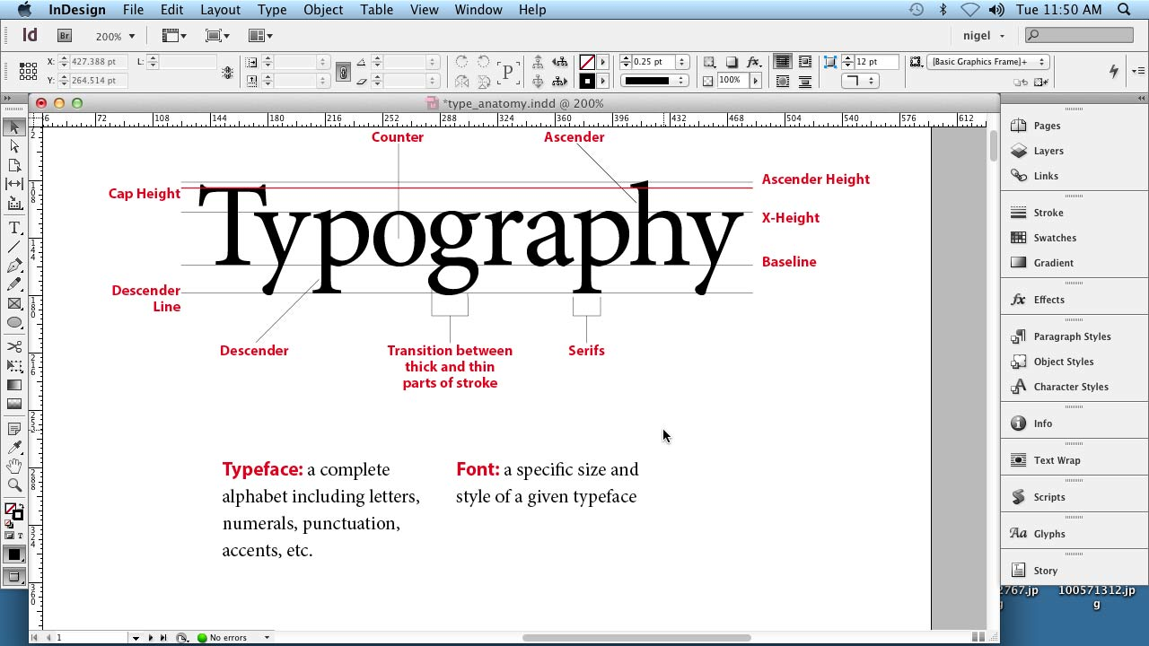 Welcome: InDesign Typography (2012)