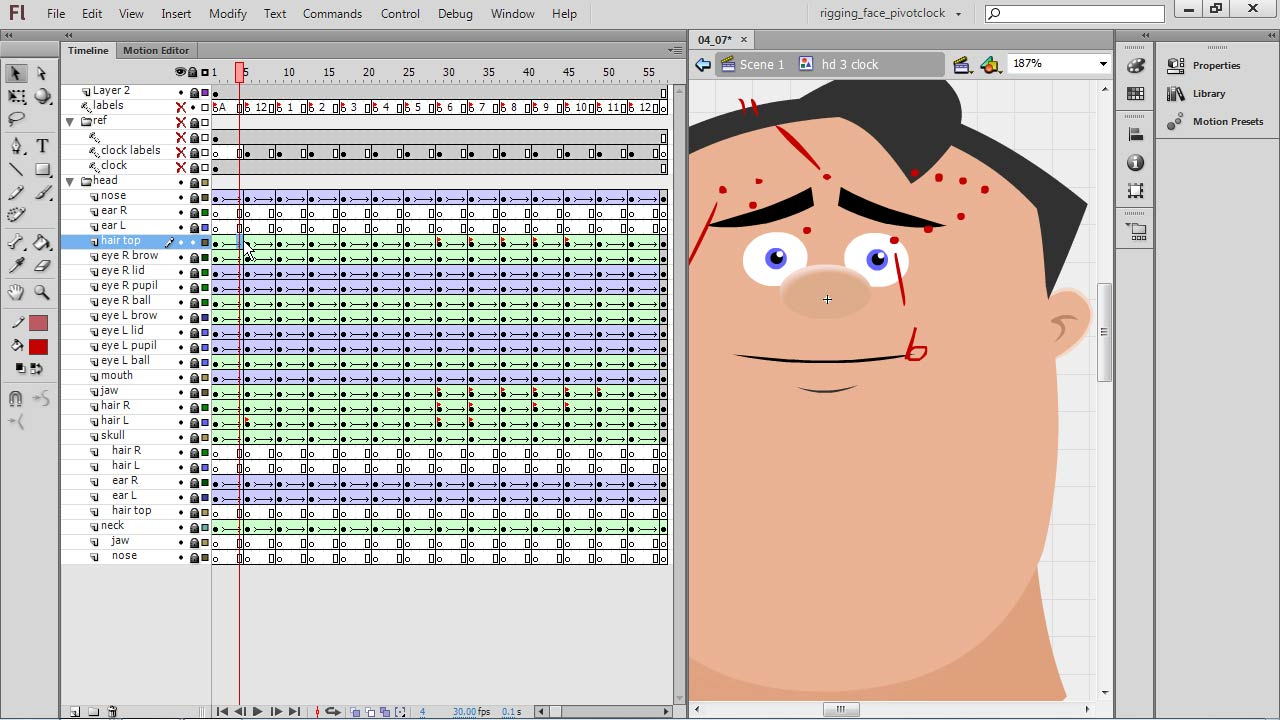 : Rigging a Face in Flash Professional