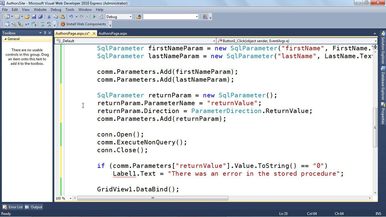 Welcome: SQL Server: Triggers, Stored Procedures, and Functions