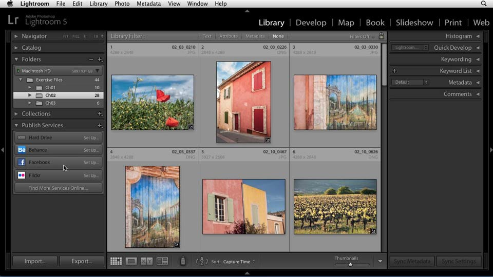 Welcome: Sharing Photos Online with Lightroom 5