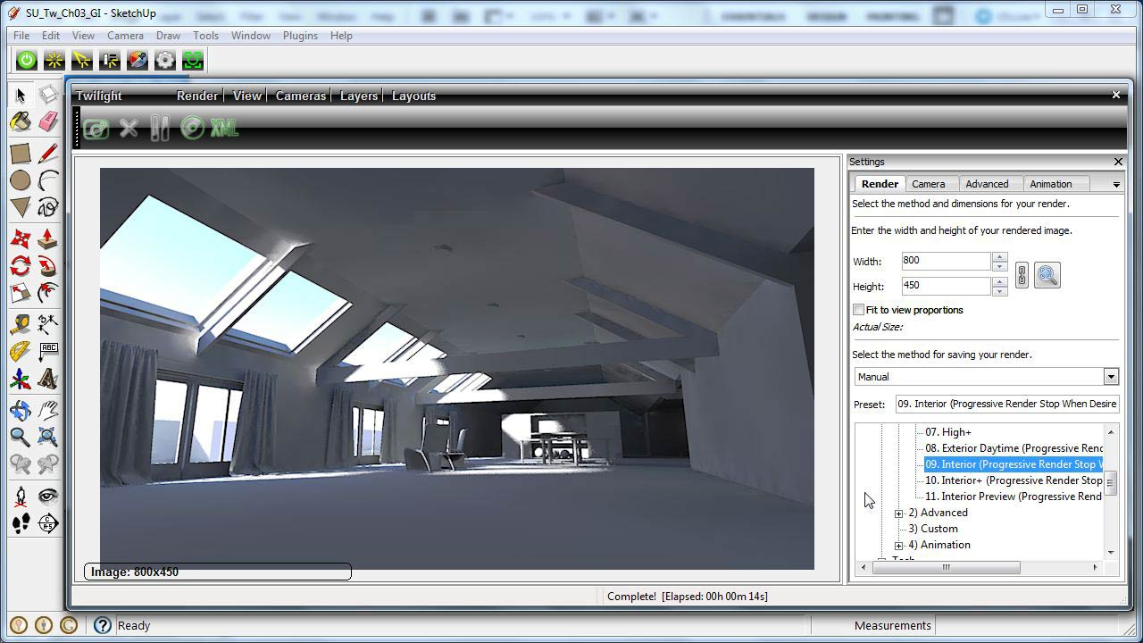 Welcome: SketchUp Rendering Using Twilight