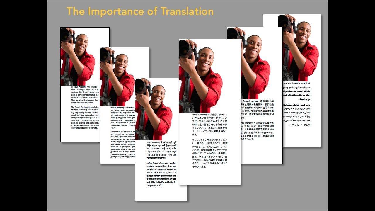 Introduction: Multilingual Publishing Strategies with InDesign