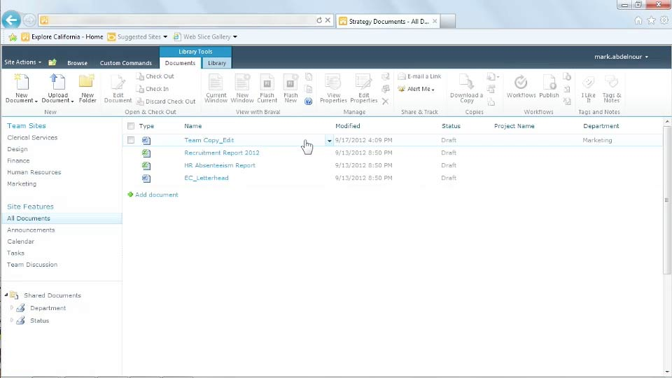: Managing Documents with SharePoint 2010