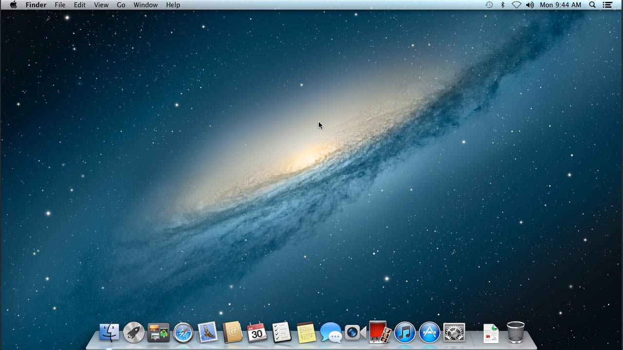Welcome: Mac OS X Mountain Lion New Features