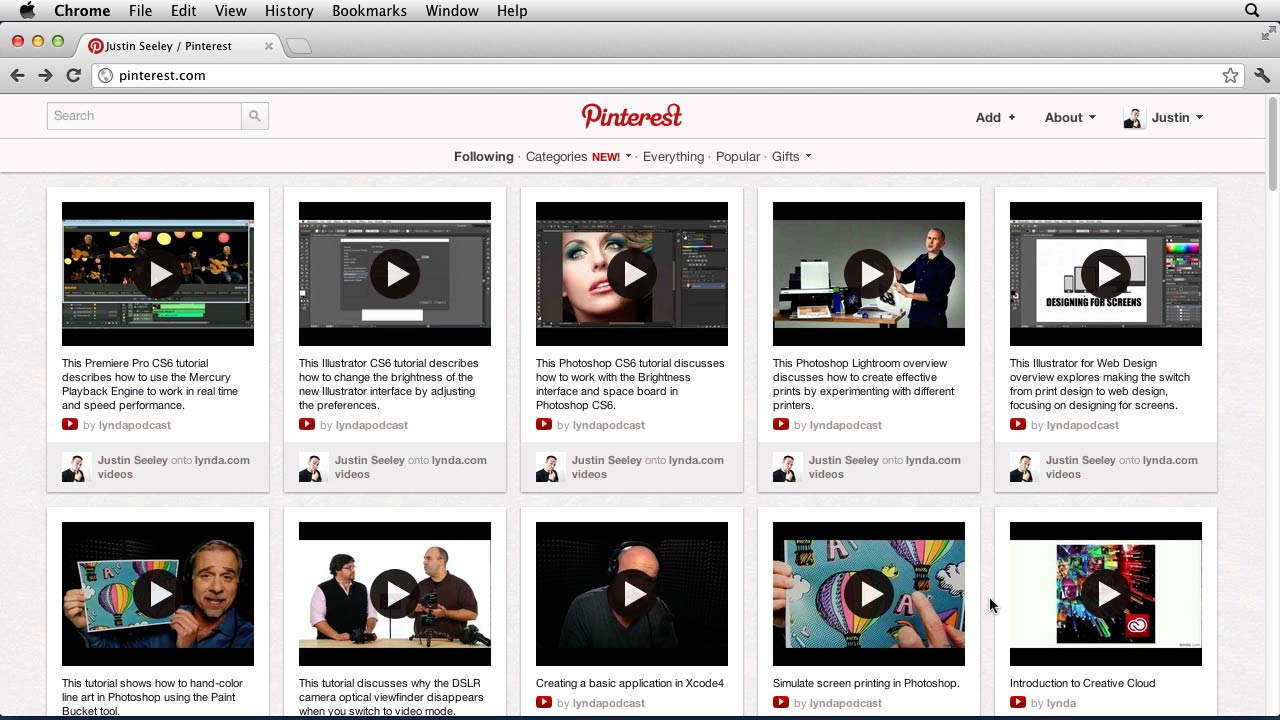 Welcome: Up and Running with Pinterest
