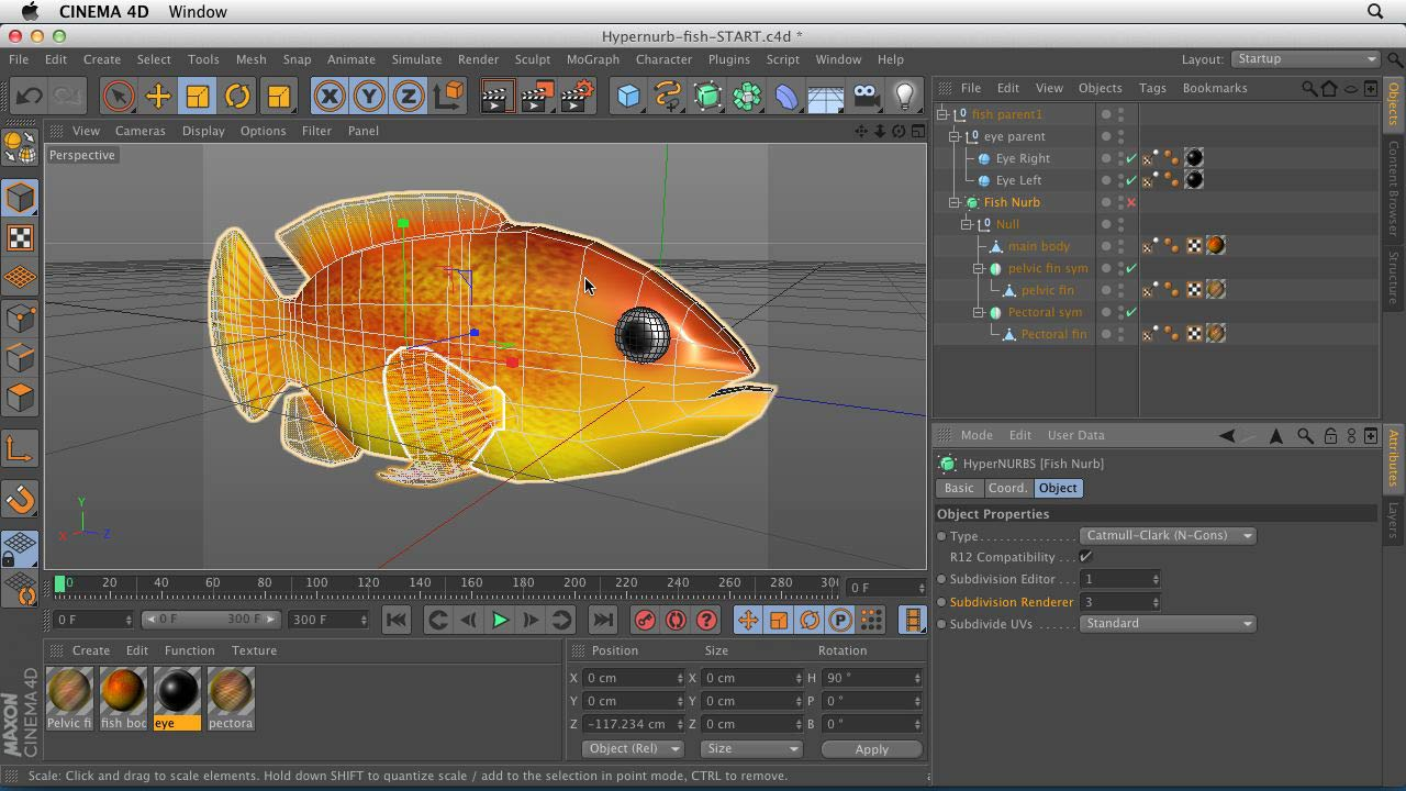 : CINEMA 4D Essentials 6: HyperNURB Modeling and Sculpting