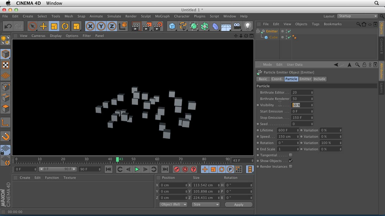 Welcome: CINEMA 4D Essentials 9: Particles and Dynamics