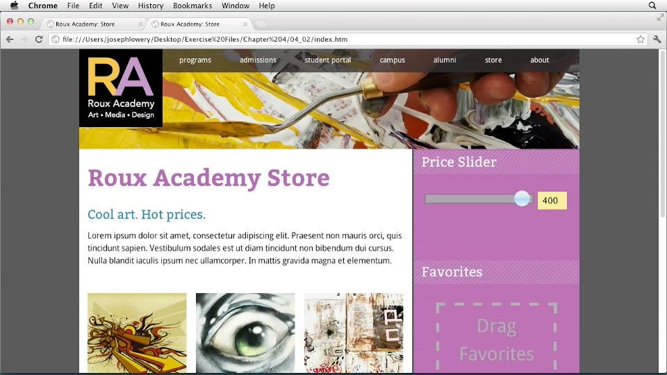 Welcome: HTML5 Projects: Engaging Ecommerce