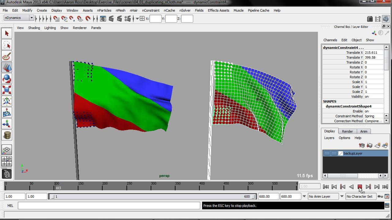 Welcome: Understanding Maya nCloth