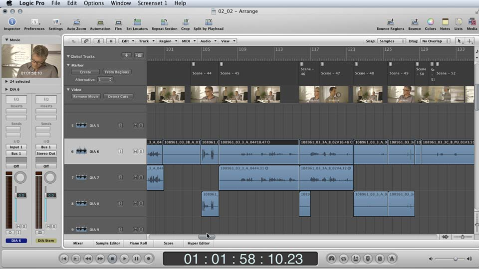 : Mixing a Short Film with Logic Pro
