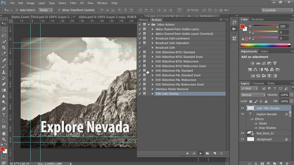 Welcome: Up and Running with Photoshop Automation