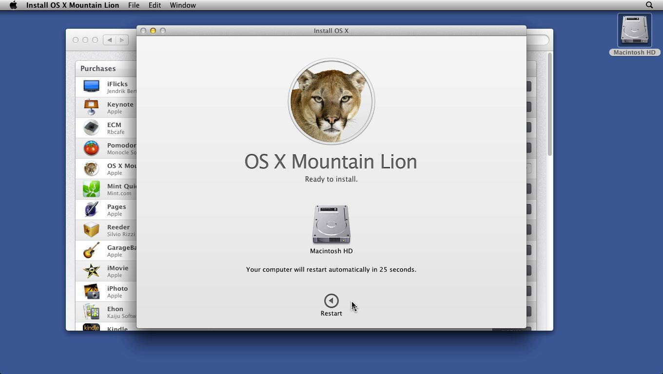 : Mac OS X Mountain Lion Essential Training