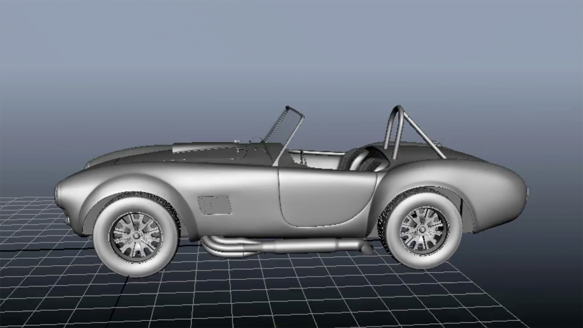 Modeling Vehicles In Maya