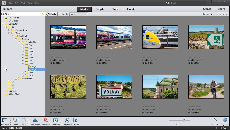 photoshop elements online courses classes training tutorials on rh lynda com Photoshop Elements 8 Photoshop Elements 13