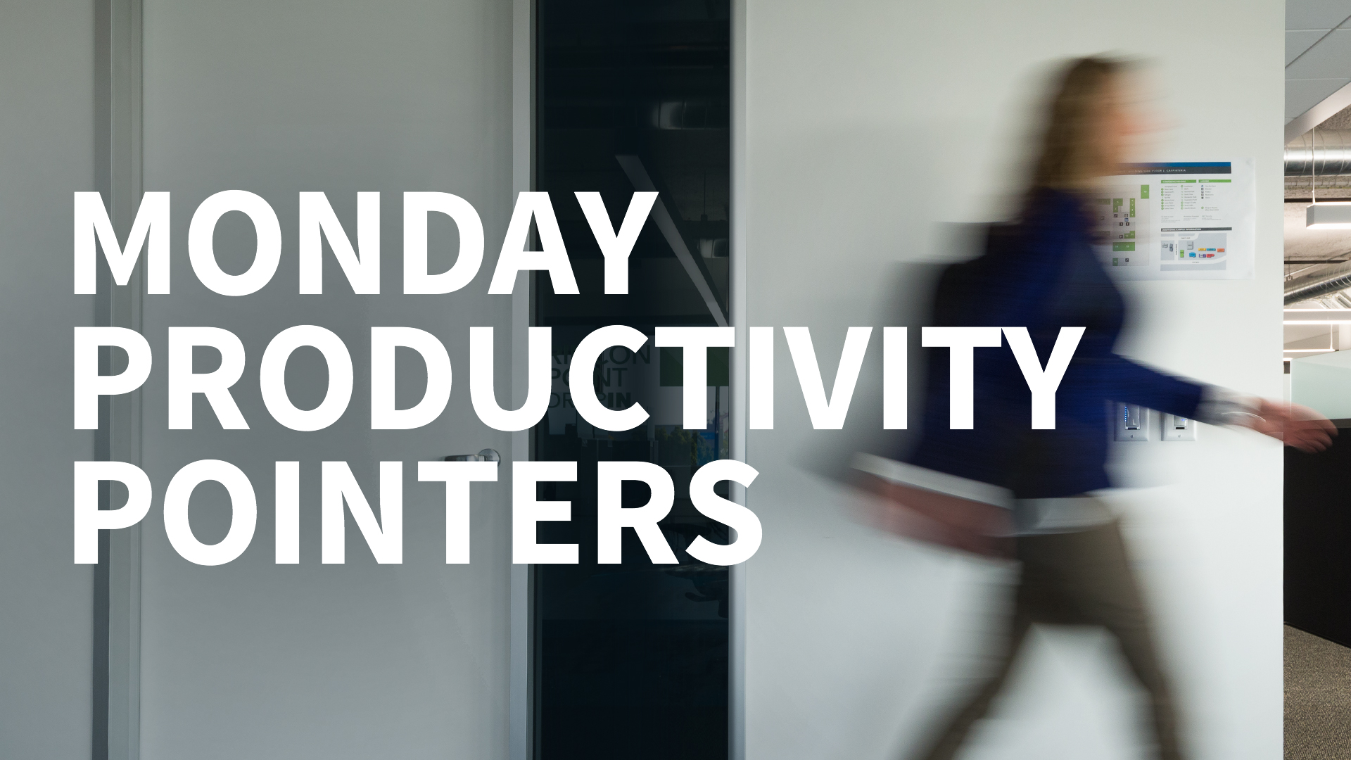 Make text bigger in Windows: Monday Productivity Pointers