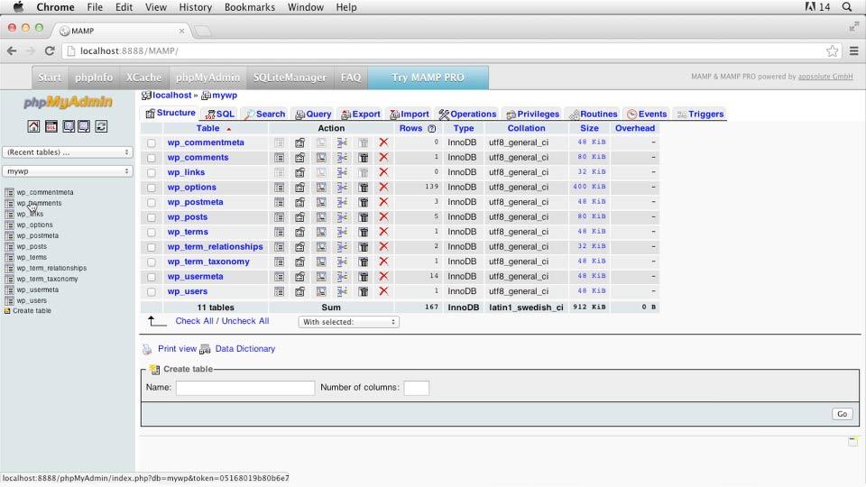 Welcome: Installing and Running WordPress: MAMP (2013)