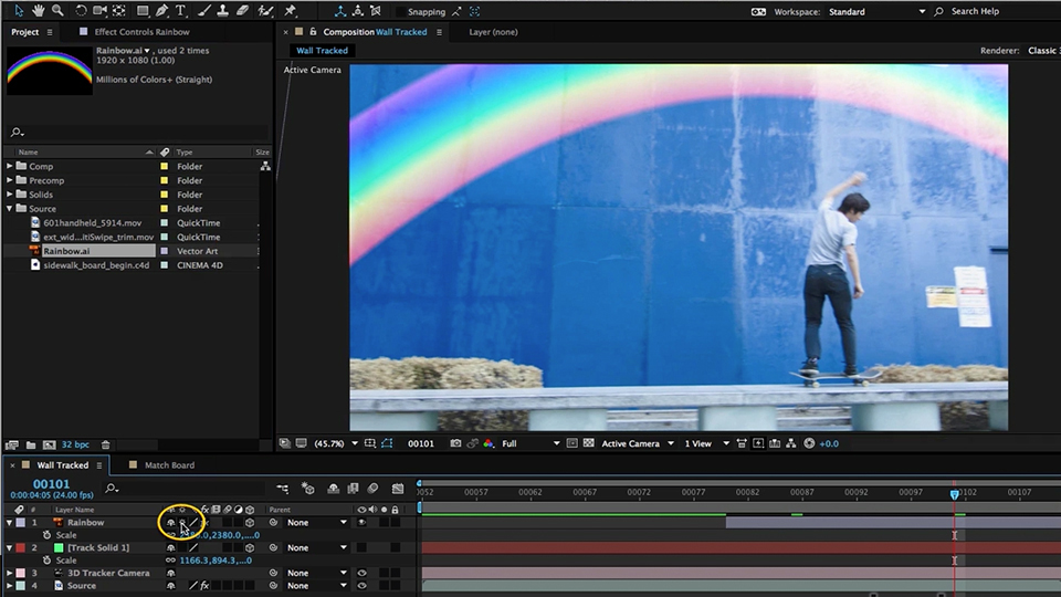Welcome: After Effects Compositing 06: Tracking and Stabilization