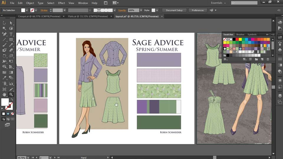 Welcome: Illustrator for Fashion Design: Drawing Flats
