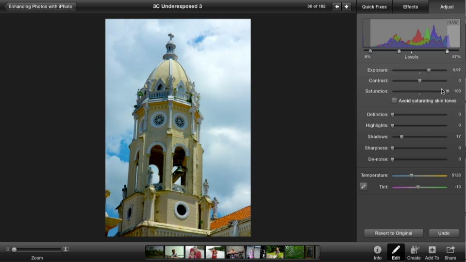 Welcome: Enhancing Photos with iPhoto