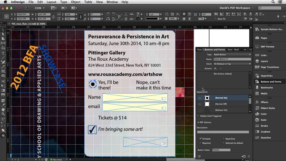 InDesign: Interactive PDFs (2013)