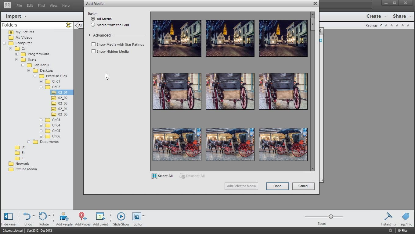 Welcome: Photoshop Elements 11 Essentials: 03 Sharing and Printing Photos