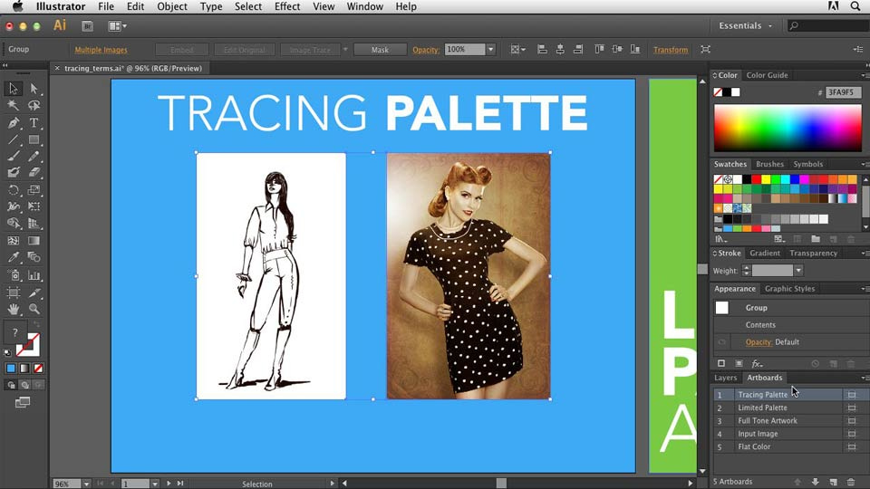 Welcome: Tracing Artwork with Illustrator