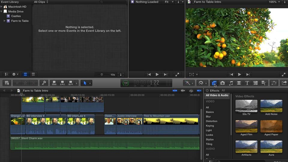 Final Cut Pro X 10.0.9 Essenti...