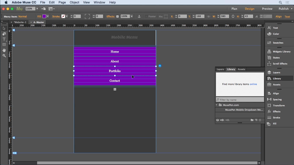 Creating grid layouts in Muse: Creative Quick Tips