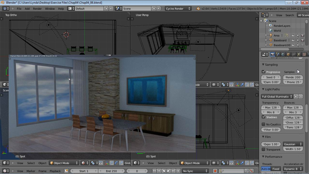 Blender: Rendering with Cycles