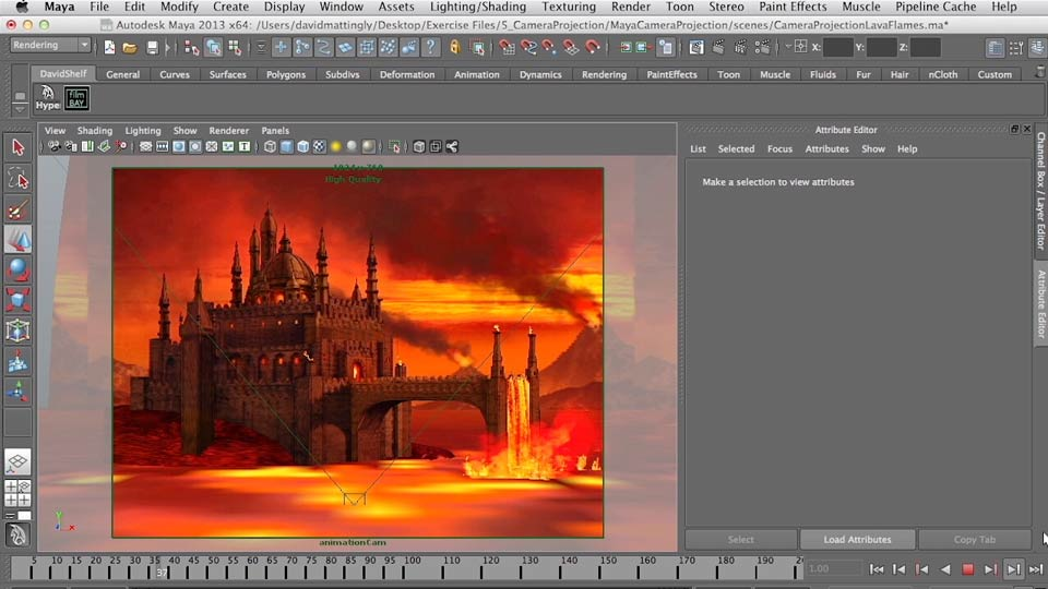 Introduction: Digital Matte Painting Essentials 5: Camera Projection in Maya