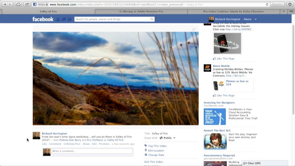 Welcome: Facebook for Photo and Video Pros