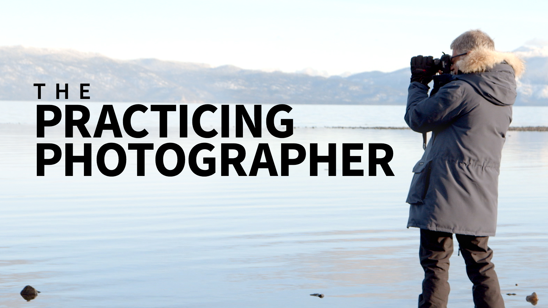 Seeing what you don't see: The Practicing Photographer