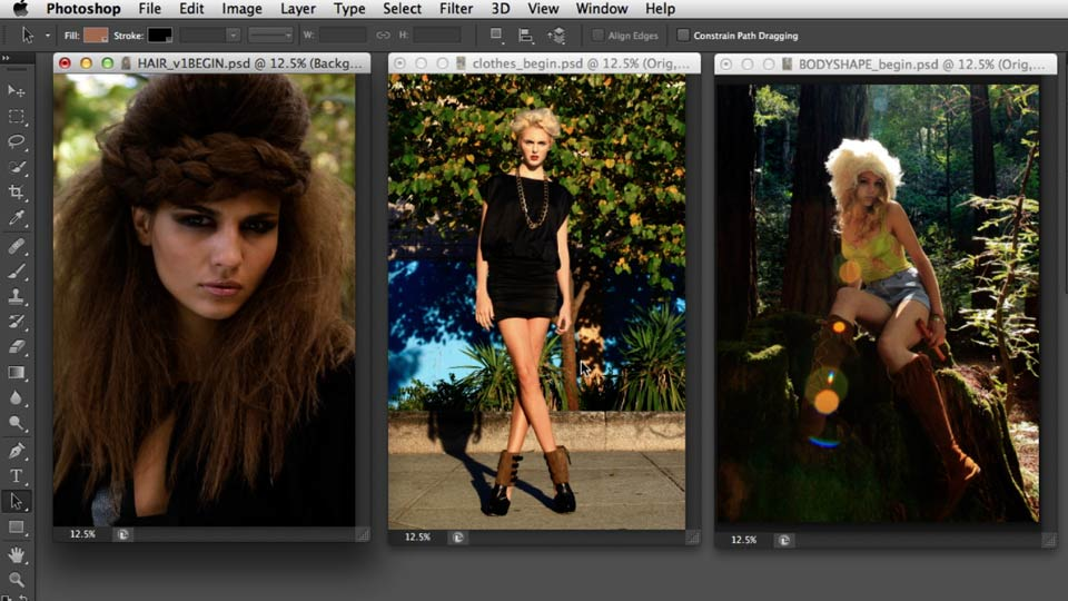 Welcome: Photoshop Retouching Techniques: Fashion Editorial