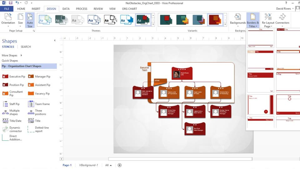 Welcome: Up and Running with Visio 2013