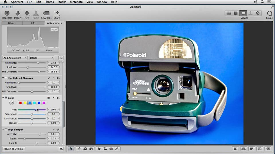 : Enhancing Product Photography with Aperture