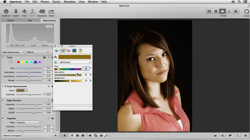 Welcome: Portrait Retouching with Aperture