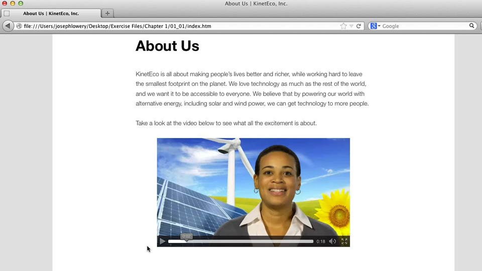Welcome: HTML5 Projects: Video Bumpers
