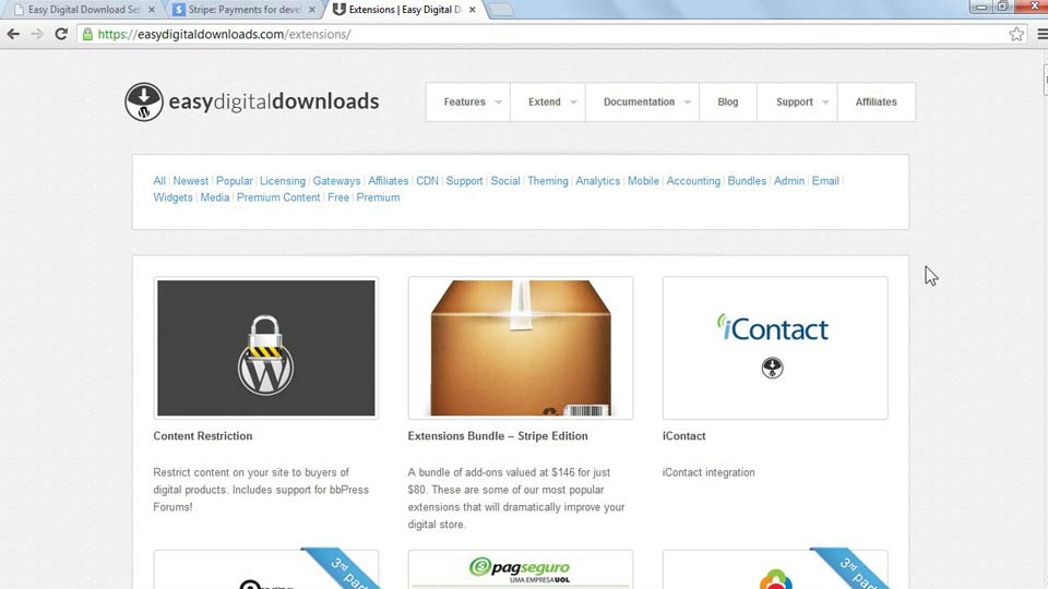 Welcome: WordPress Ecommerce: Easy Digital Downloads