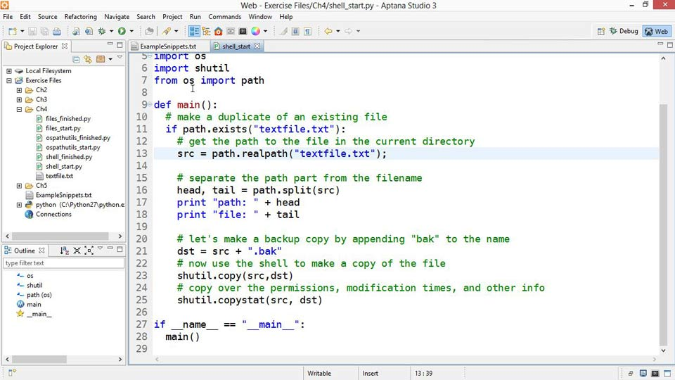 : Up and Running with Python