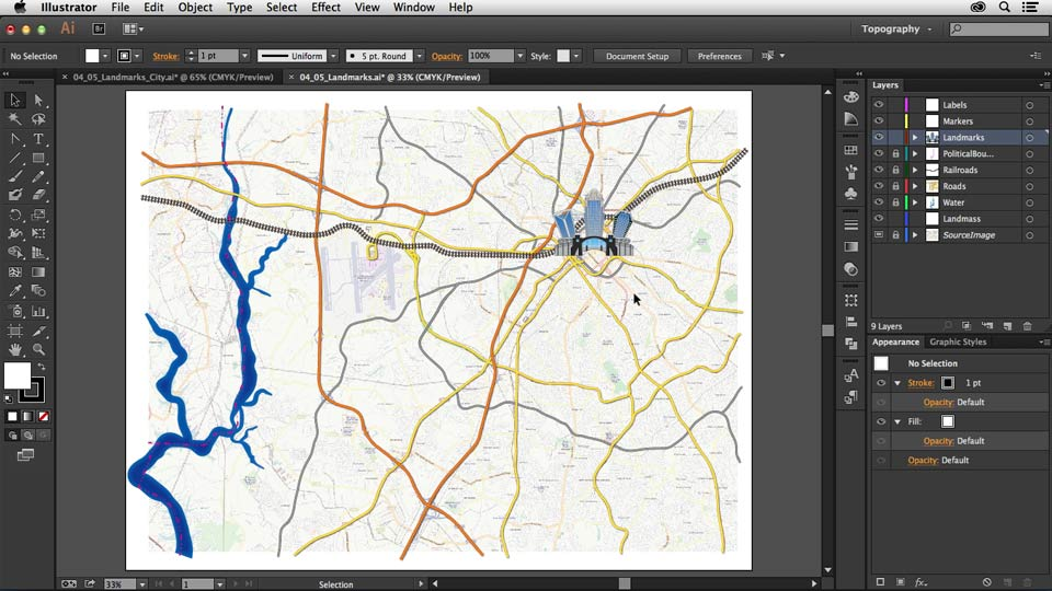 Welcome: Creating a Map with Illustrator
