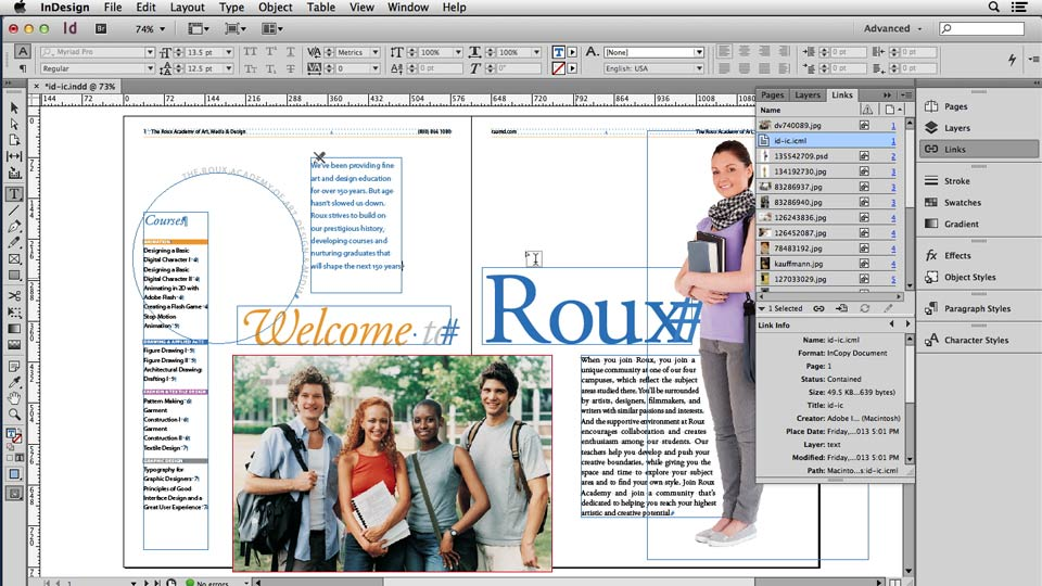 Welcome: Using Word and InDesign Together