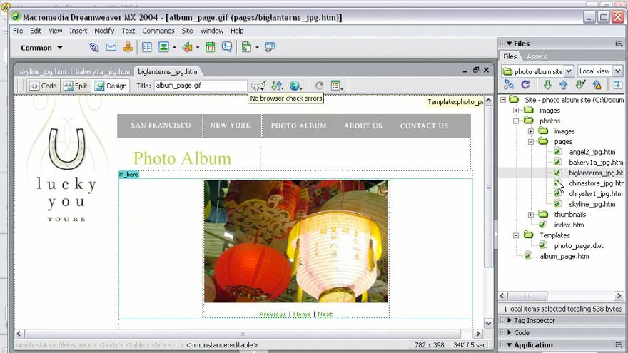 welcome: Studio MX 2004 Web Workflow