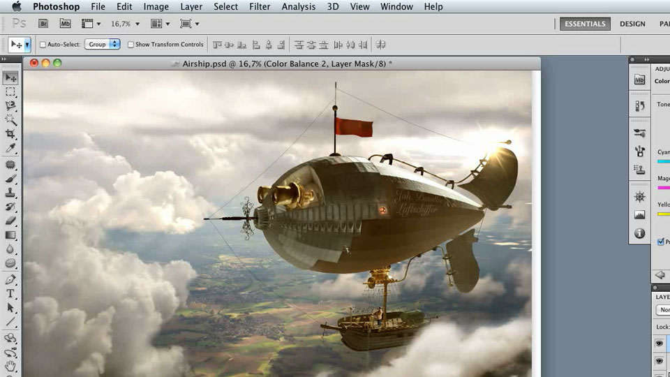 Welcome: Photoshop Artist in Action: Uli Staiger's Airship
