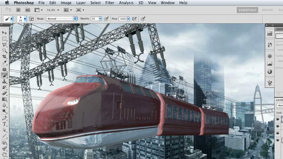 Welcome: Photoshop Artist in Action: Uli Staiger's Skytrain