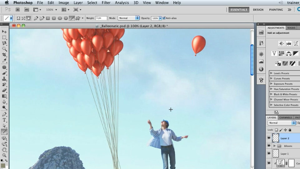 Welcome: Photoshop Artist in Action: Uli Staiger's Balloonatic