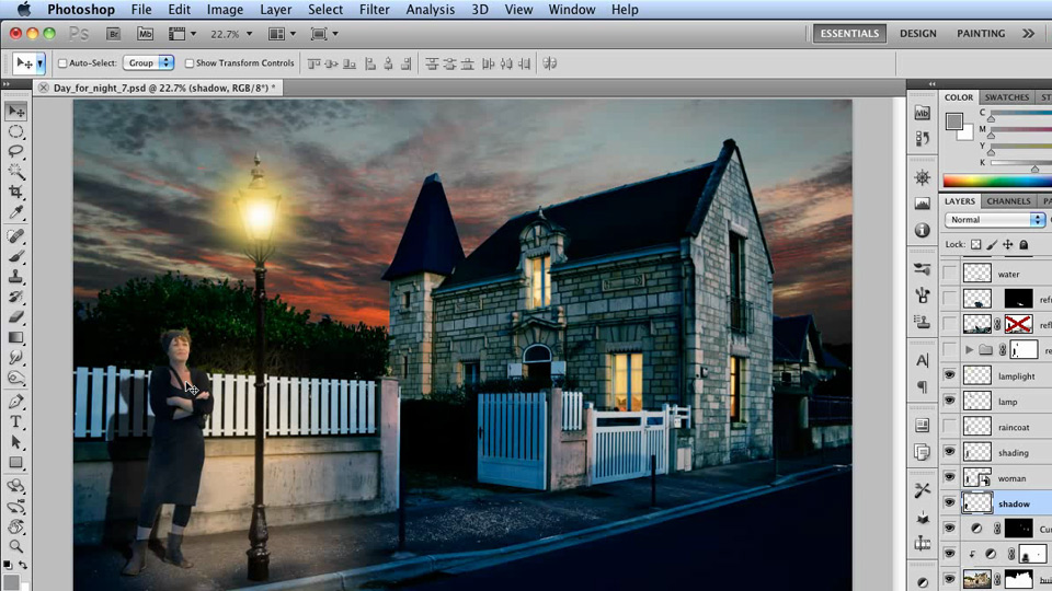 Welcome: Photoshop Artist in Action: Steve Caplin's Day for Night