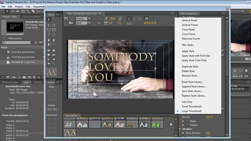 Welcome: Getting Started with Premiere Pro CS5