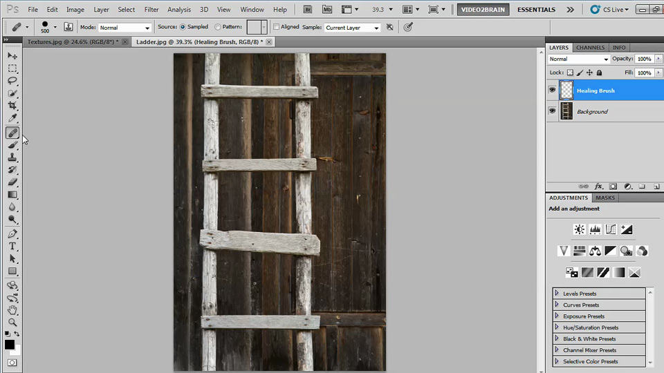 Welcome: Photoshop Image Cleanup Workshop